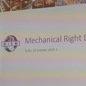 Mechanical Right Day, Sofija, 10.10.2019